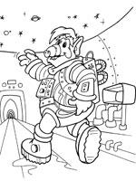 Coloriage alf sur top coloriages coloriages alf - Dessin d astronaute ...