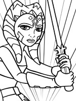 Ahsoka Coloring Pages Bigking Keywords And Pictures