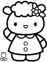 Dessins imprimer hello kitty - Imprimer coloriage hello kitty ...