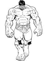 Coloriage Hulk Sur Top Coloriages Coloriages Hulk