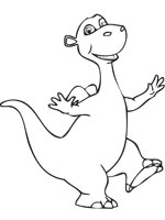 Coloriage impy le dinosaure sur top coloriages coloriages impy - Top coloriage dinosaures ...