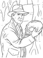 Coloriage indiana jones sur top coloriages coloriages - Coloriage indiana jones ...