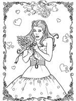 Coloriage mariage sur top coloriages coloriages mariage - Coloriage de mariee ...