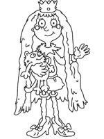 Mona The Vampire Coloring Pages Coloring Pages Ideas Reviews