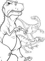 Coloriage Petit Pied Le Dinosaure.Coloriage Le Petit Dinosaure Sur Top Coloriages Coloriages Petit