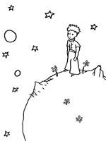 Coloriage le petit prince my blog - Coloriage petit renard ...