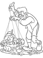 Coloriage pinocchio sur top coloriages coloriages pinocchio - Coloriage pinocchio ...
