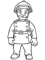 Coloriage Sam Le Pompier Sur Top Coloriages Coloriages Sam Pompier