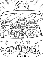 Coloriage Tortues Ninja Sur Top Coloriages Coloriages Tortues Ninja