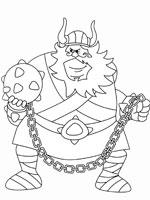 Coloriage Viking Cheval.Coloriage Vic Le Viking Sur Top Coloriages Coloriages Vic Le Viking