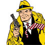 Coloriage de Dick Tracy